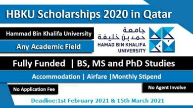 Photo of Hammad Bin Khalifa University Scholarship in Qatar 2021