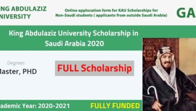 Photo of King Abdulaziz University Scholarship in Saudi Arabia