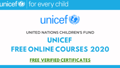 Photo of UNICEF Free Online Courses With Free Certifications